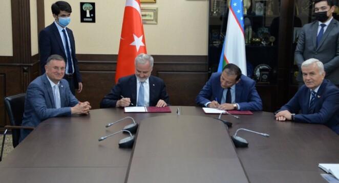 İskenderun ile Taşkent Ticaret ve Sanayi Odası Arasında Karşılıklı Yatırım ve İşbirliği Protokolü İmzalandı